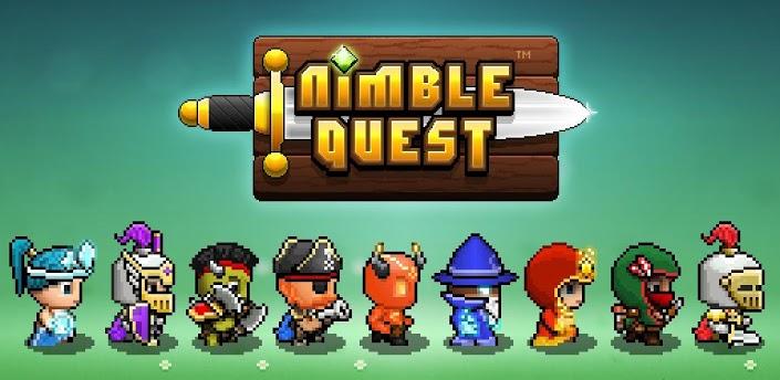 Nimble Quest – 8-мибитная RPG-змейка теперь на вашем Android