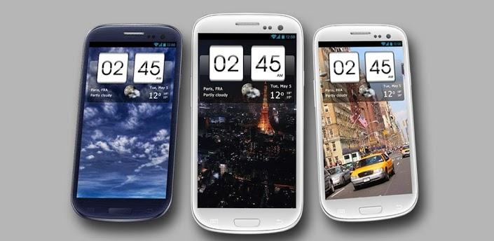 Sense Flip Clock & Weather – стильный виджет для вашего Android