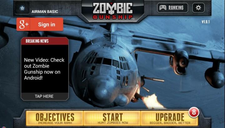 Zombie Gunship – популярный постапокалиптичный симулятор теперь доступен для пользователей Android