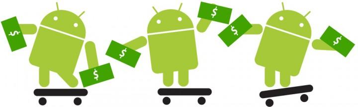 Приложения для заработка денег на Android устройствах