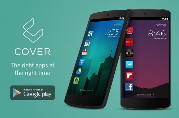 Cover – умный локскрин для вашего Android устройства