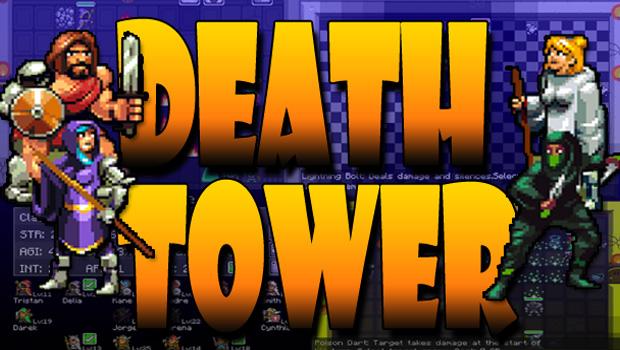 Death Tower – коллективная roguelike RPG с пошаговыми битвами