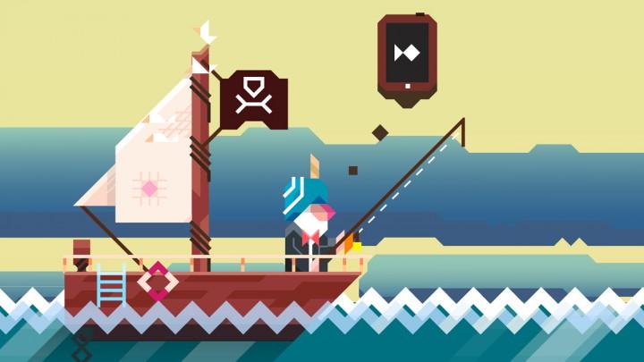 Ridiculous Fishing – безумная рыбалка на Android