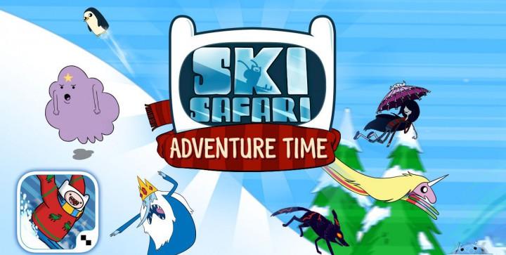 Ski Safari: Adventure Time – культовый мультсериал перевоплощается в Android игру
