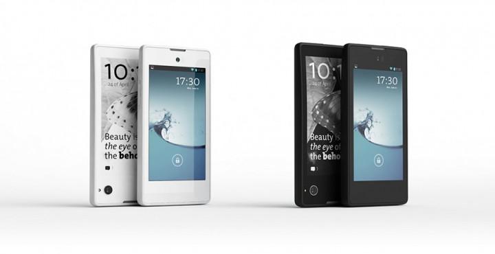 YotaPhone – смартфон с LCD и e-ink дисплеями