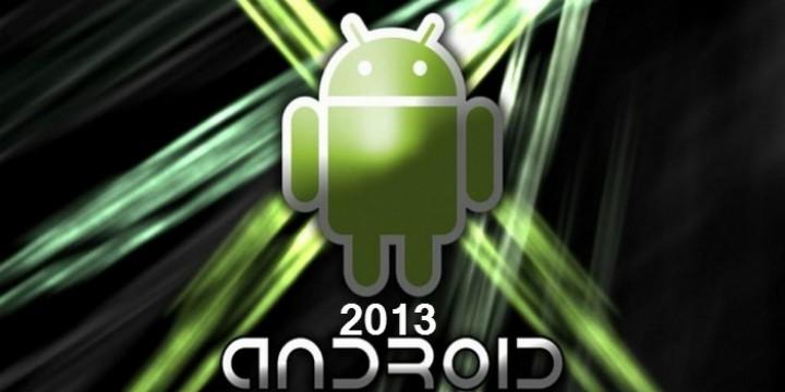 2013 год для платформы Android