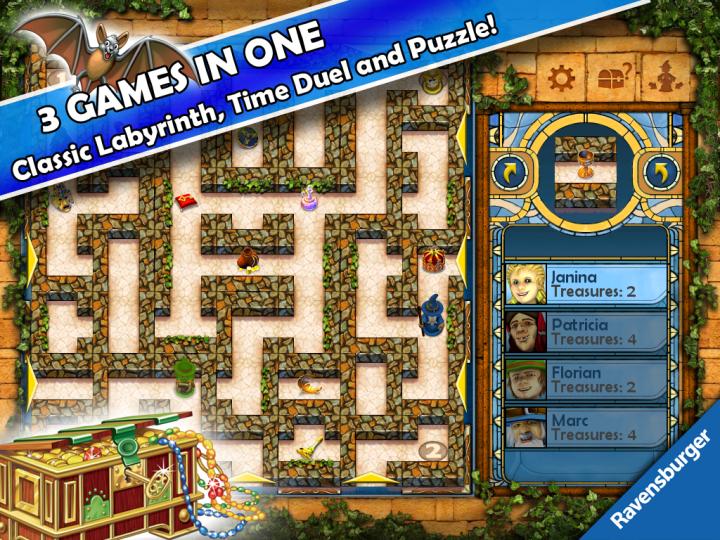 THE aMAZEing Labyrinth – классическая настольная игра для вашего Android устройства