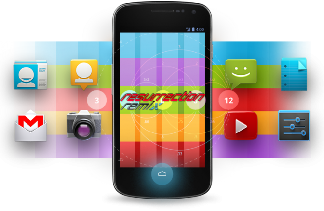 Ставим Resurrection Remix Android 4.4.2 ROM на Samsung Galaxy S I9000