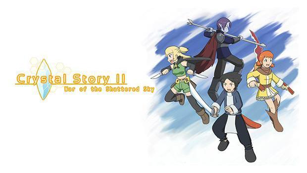 Crystal Story II: War of the Shattered Sky – отличная JRPG для всех любителей жанра