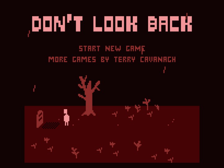 Don't Look Back – философский минимализм от инди-разработчика