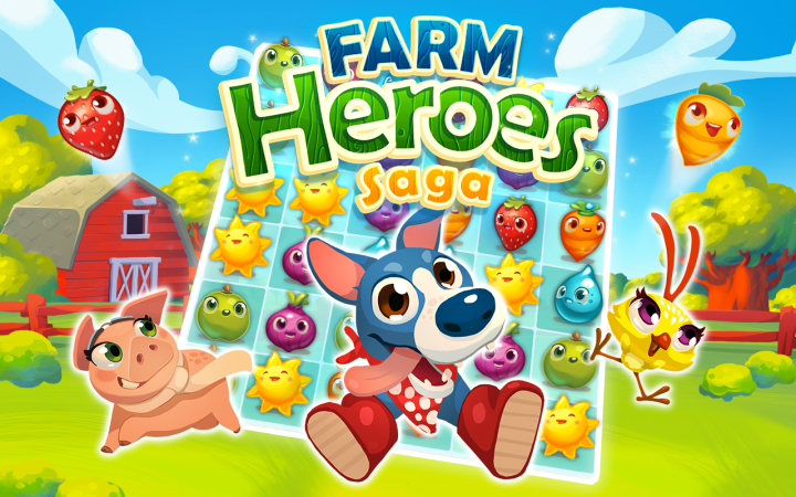 Farm Heroes Saga – Candy Crush Saga для тех, кому надоели сладости