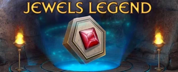 Jewels Legend – три-в-ряд на поле из шестиугольников