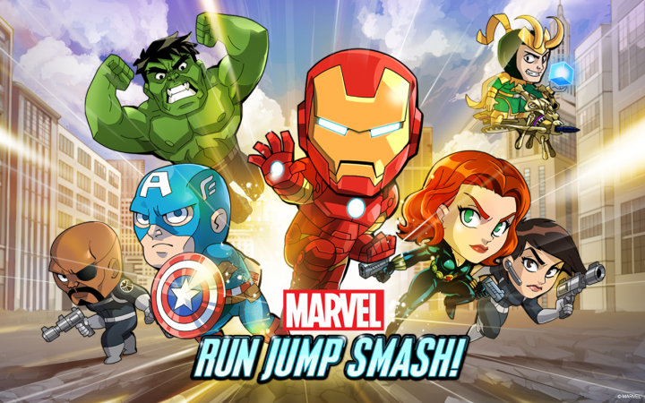 Marvel Run Jump Smash – платформенный раннер с героями Marvel