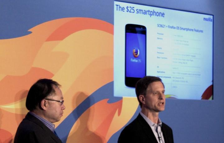Mozilla выпустит смартфон на Firefox OS, стоимость которого составит 25 долларов