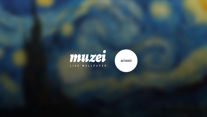 Muzei Live Wallpaper - шедевры живописи на экране вашего ...