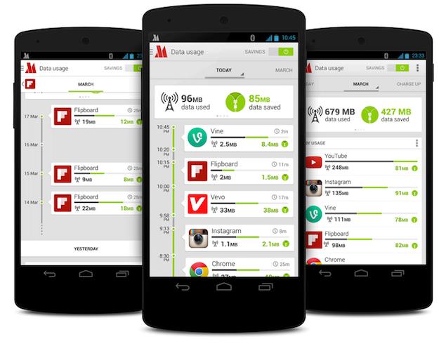 Opera Max для Android позволит снизить ваш мобильный трафик в два раза