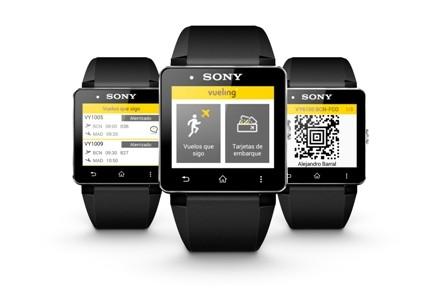 Попасть на борт самолета можно будет при помощи смарт-часов Sony Smartwatch 2