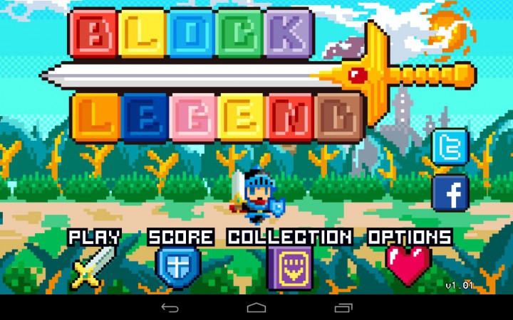 Block Legend – игра в жанре RPG/Puzzle для вашего Андроида