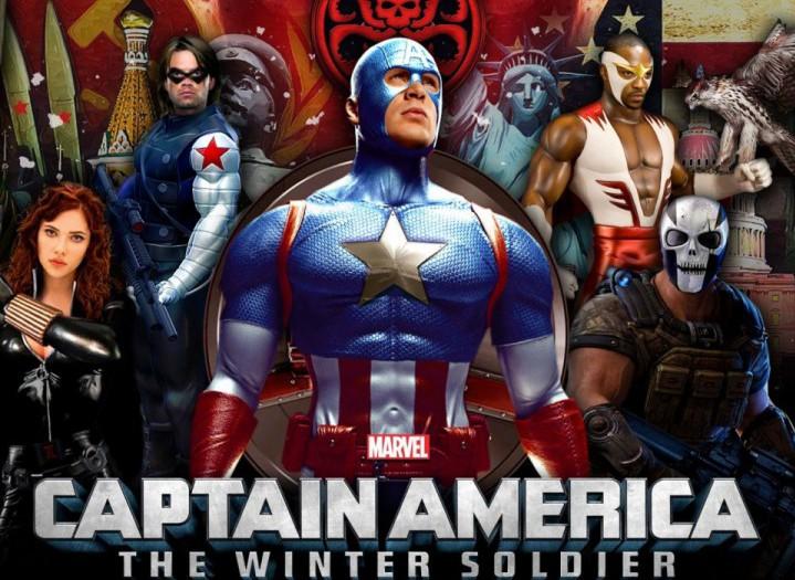 Captain America: The Winter Soldier – мобильный экшн от Gameloft по мотивам ожидаемого фильма о приключениях Капитана Америки