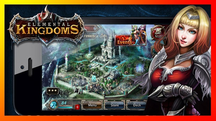 Elemental Kingdoms – карточная MMORPG для Android