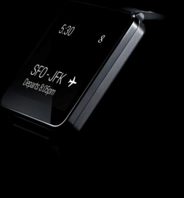 LG G Watch – первые смарт-часы от компании LG