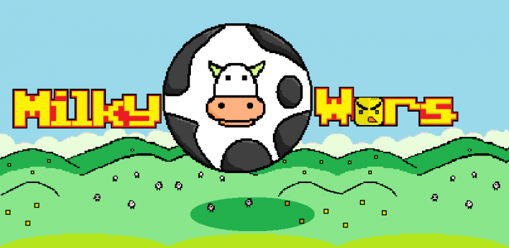 MilkyWars – война круглой коровы с квадратными курицами