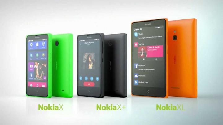 Nokia X, Nokia X, Nokia XL