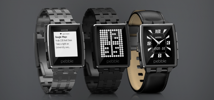 Pebble Steel – стильные смарт-часы от Pebble под управлением устройств Android