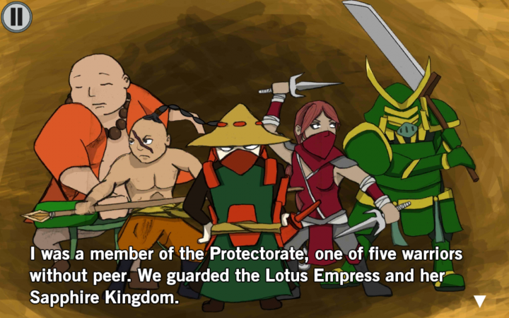 Ronin's Revenge – камень, ножницы, бумага, самураи, возмездие, справедливость