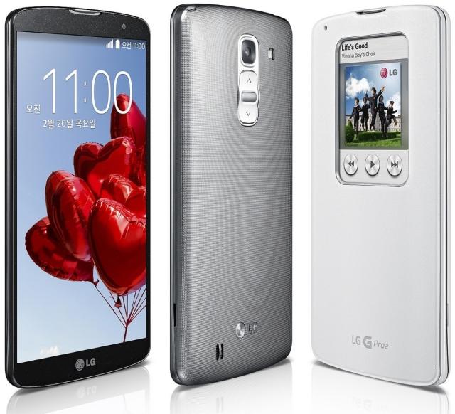 Обновляем LG G Pro 2