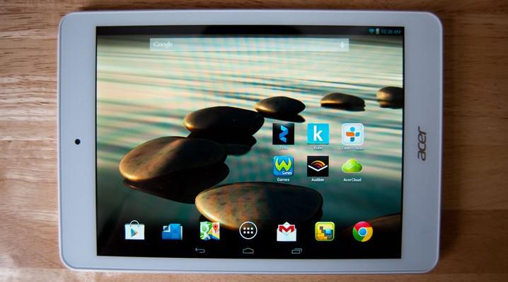 Acer Iconia A1-830 – надежный и недорогой Android планшет