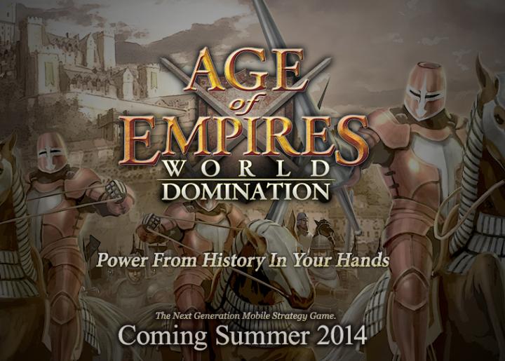 Age of Empires: World Domination – новая часть культовой стратегии на Android