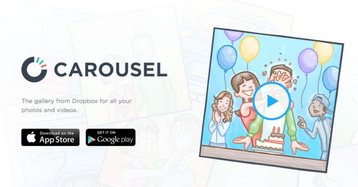 Carousel – социальная галерея от Dropbox