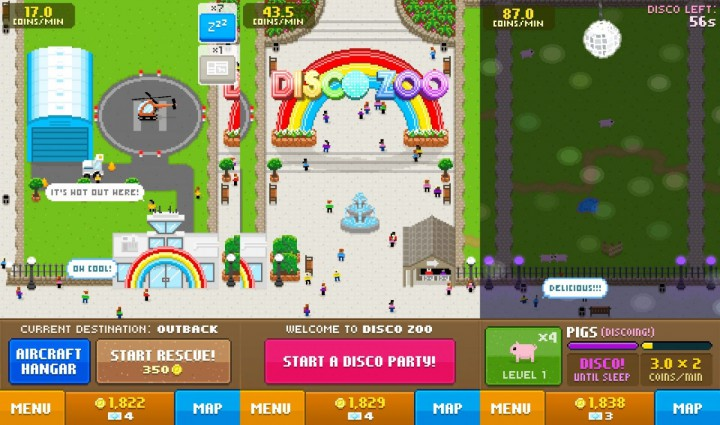 Disco Zoo – ваш шанс стать директором 8-битного зоопарка