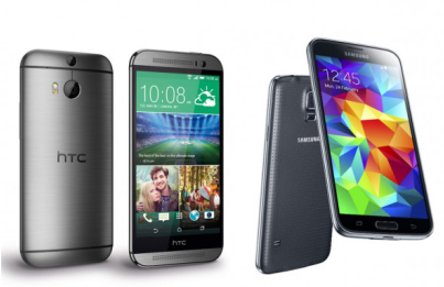 Samsung Galaxy S5 vs HTC One M8