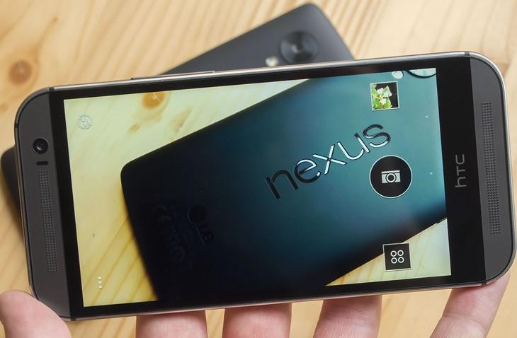 HTC One M8 vs Nexus 5