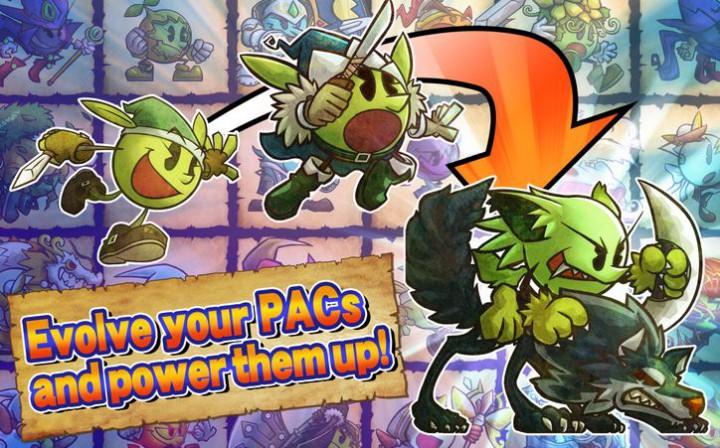 Pac-Man Monsters – гибрид головоломки и RPG с культовым героем в главной роли