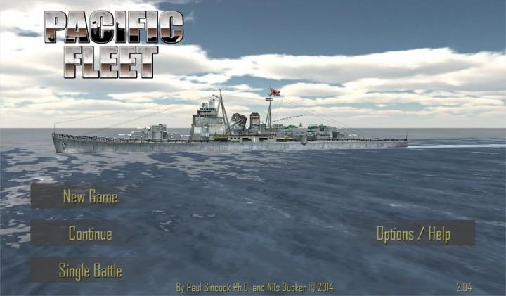 Pacific Fleet – морские сражения времен Второй мировой войны на Android