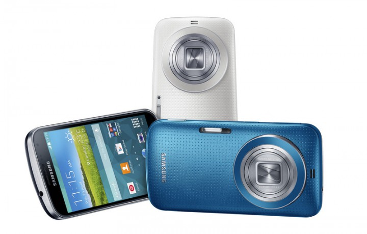 Samsung Galaxy K Zoom – гибрид фотоаппарат и смартфона Galaxy S5