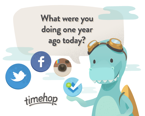 Timehop – путешествие в ваше прошлое с Android смартфона