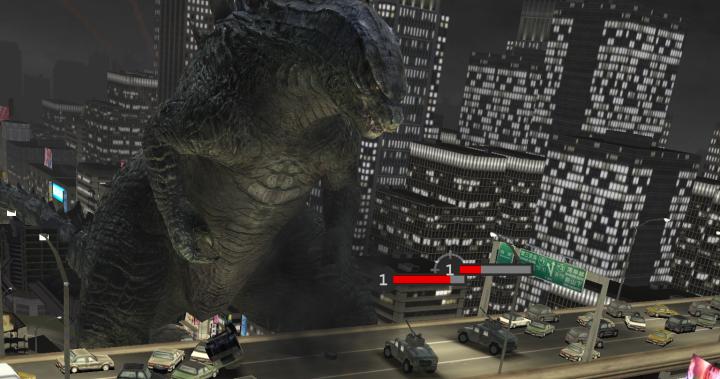 Godzilla Smash3 – три-в-ряд из Годзилл