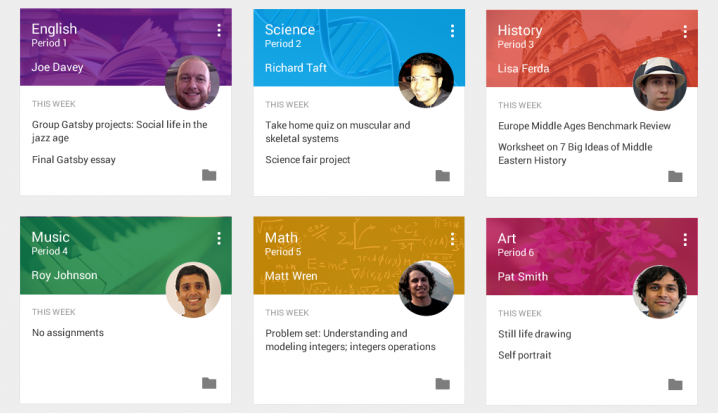 Google Classroom – приложение, которое позволить преподавателям и студентам взаимодействовать между собой на новом уровне