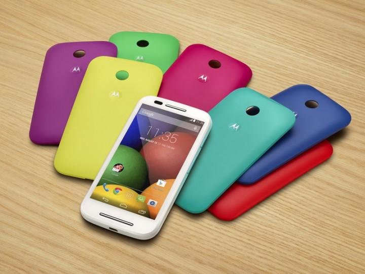 Moto E – новый бюджетный смартфон от Motorola