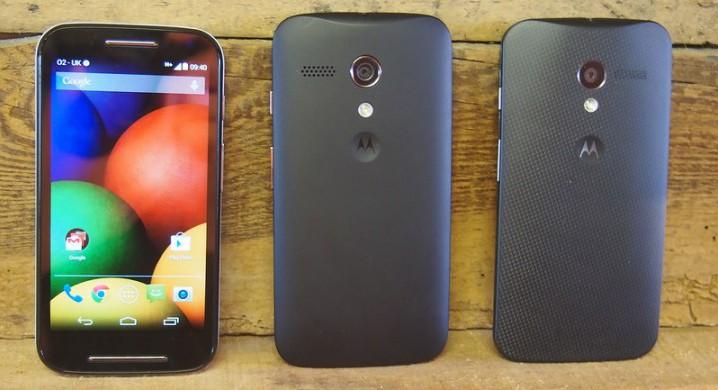 Обновляем Motorola Moto E