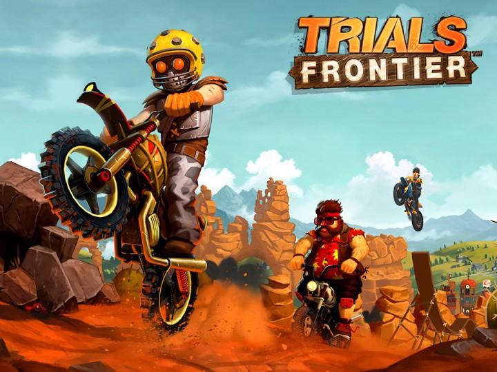 Trials Frontier – самые сумасшедшие гонки на мотоциклах для вашего Андроида