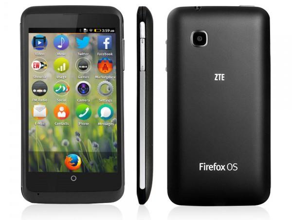 ZTE Open C – смартфон на операционной системе Firefox