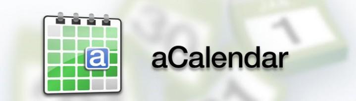 aCalendar – удобный и практичный календарь для вашего Андроида