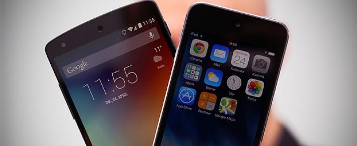 Особенности iOS 8, которые уже есть в Android