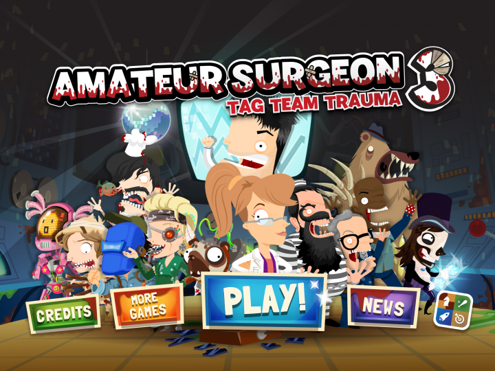 Amateur Surgeon 3 – безумная медицины на Android