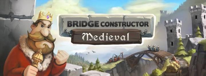 Bridge Constructor: Medieval – работа средневекового архитектора на Андроид